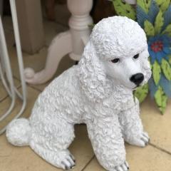 Resin Poodle Statue