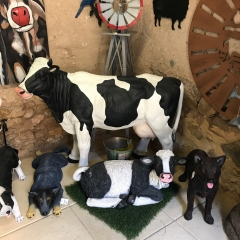 Large Cow Statue